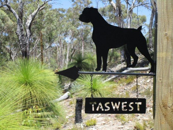 TASWEST HOUSE SIGN